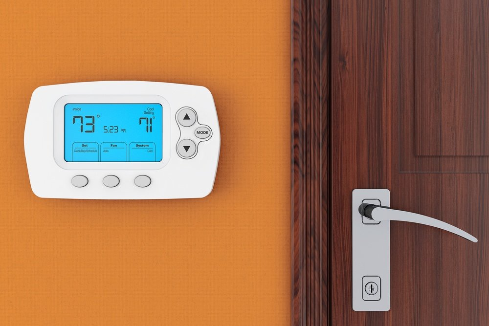 Install a programmable thermostat can improve your HVAC efficiency and day-to-day EER.
